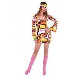 Location costume hippie Telma adulte
