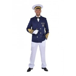 Location costume Capitaine Marin Homme