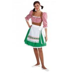 Location costume Tyrolienne adulte