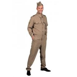 Location costume Militaire Américain adulte