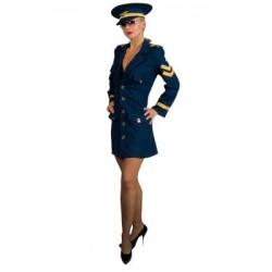 Location costume Hôtesse de l'Air adulte
