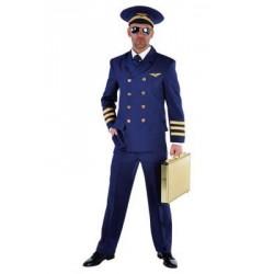 Location costume Pilote de ligne adulte