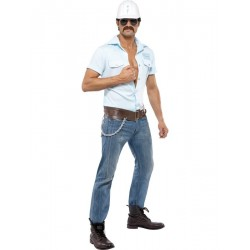 Location costume Ouvrier Village People adulte
