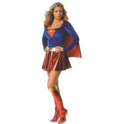 Location costume Supergirl adulte