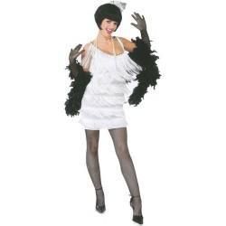 Location costume Charleston Blanche adulte