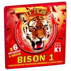 Pétards Bison 1 x6
