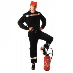 Costume Pompier Français