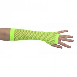 Mitaines Longues Verts Fluo