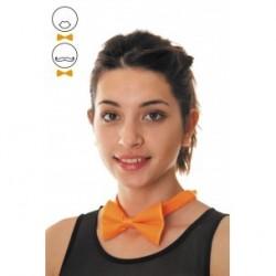 Noeud Papillon Orange Fluo