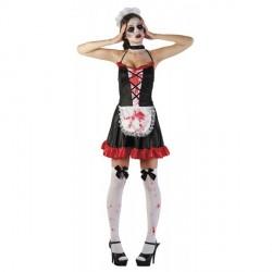 Costume Soubrette Sexy Zombie