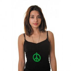 Pendentif Hippie Fluo Vert