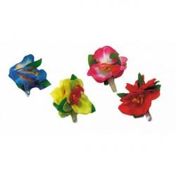 Barette Fleur Hawaï