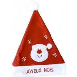 Bonnet Père Noël Joyeux Noël Lumineux