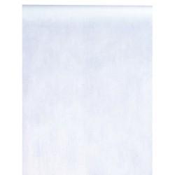 Chemin de table intissé blanc