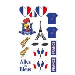 Tatoos supporter France