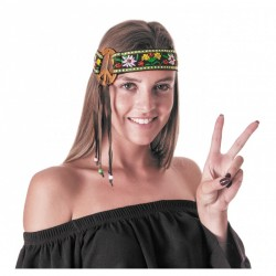 Bandeau Hippie Peace & Love