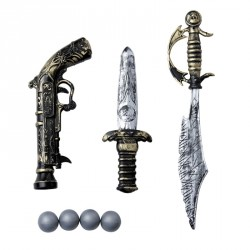 Set Pirate 3 armes