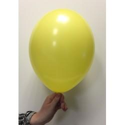 Ballon latex jaune citron standard x100 ø30