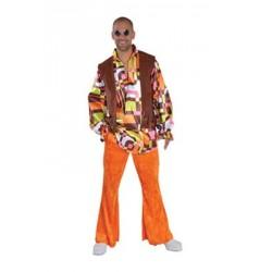 Location costume Hippie Elton adulte