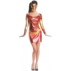 Location costume Iron Girl adulte