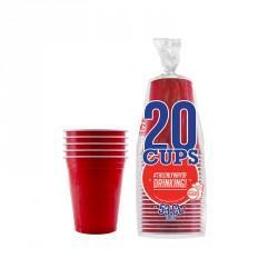 Gobelet américain rouge X20